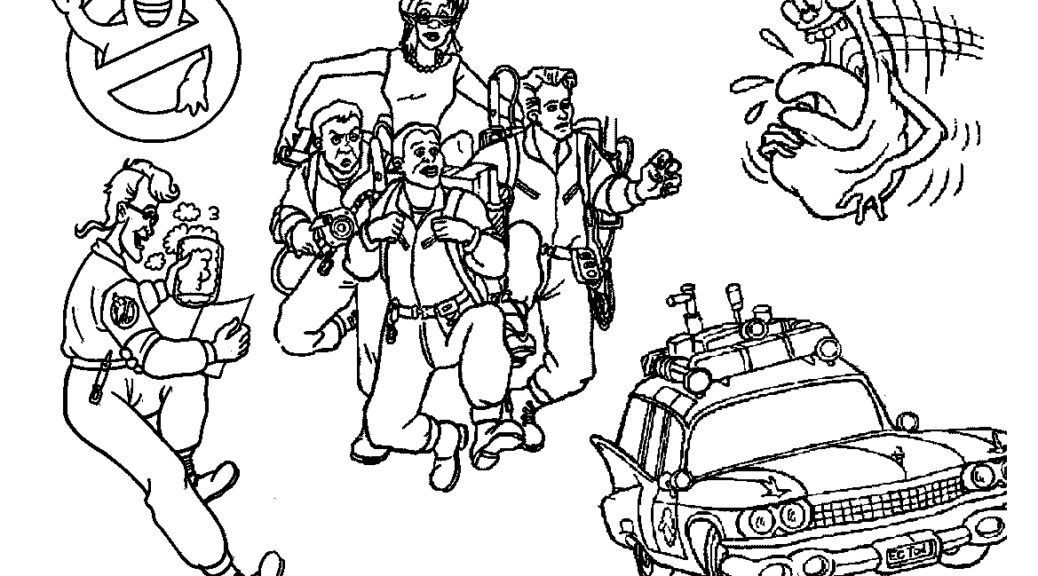Ghostbusters Free Coloring Pages Coloring Home