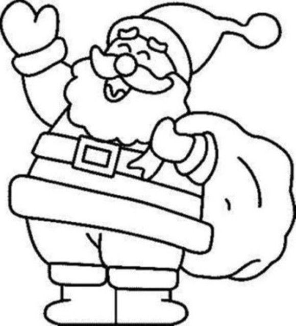 christmas coloring page santa  az coloring pages, printable coloring