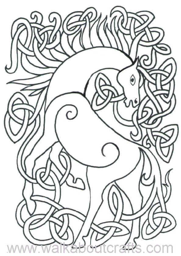 Celtic designs coloring pages coloring home for Celtic coloring page