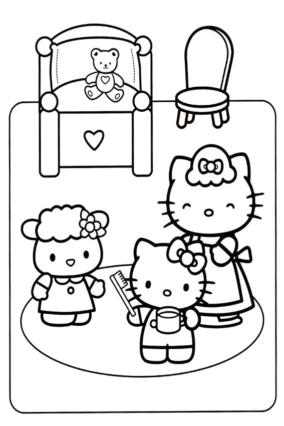 free coloring pages bedtime - photo#14