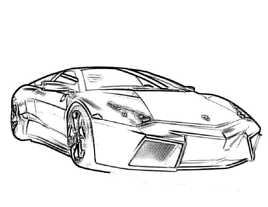 Free Printable Lamborghini Coloring Pages For Kids Pinterest