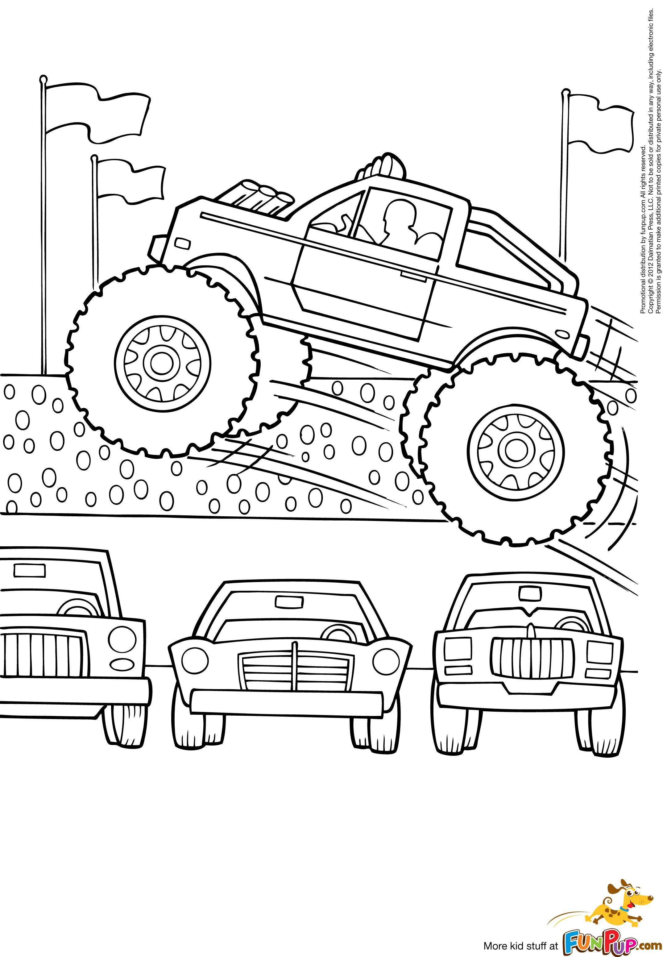 monster jam 2013 coloring pages - photo#19