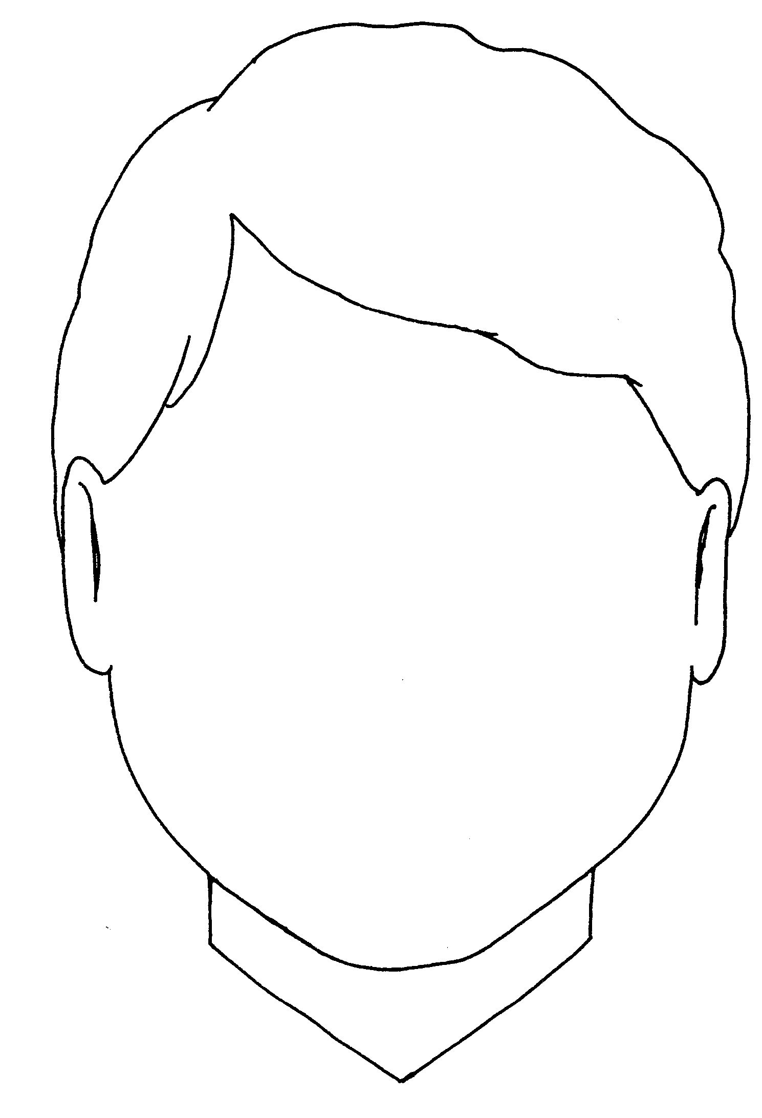 Clip Art Person Outline Coloring Page person outline coloring page az pages boy body for all ages