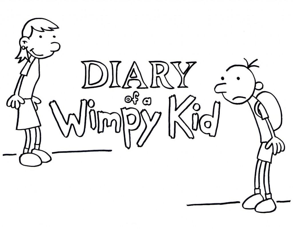 Print Diary Of A Wimpy Kid Book