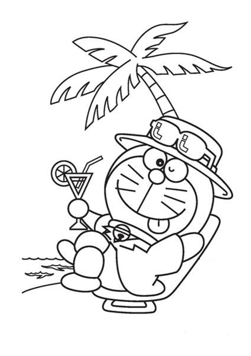 Doraemon Coloring Pages Coloring Home