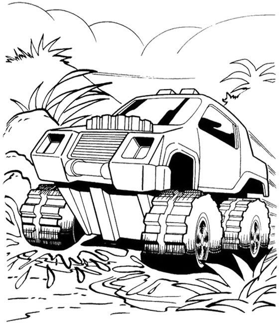 hot wheels.cartoon - coloring home
