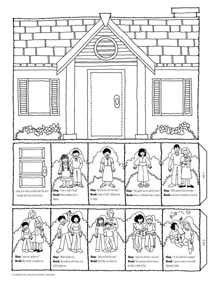 Heaven Coloring Page - Coloring Pages for Kids and for Adults