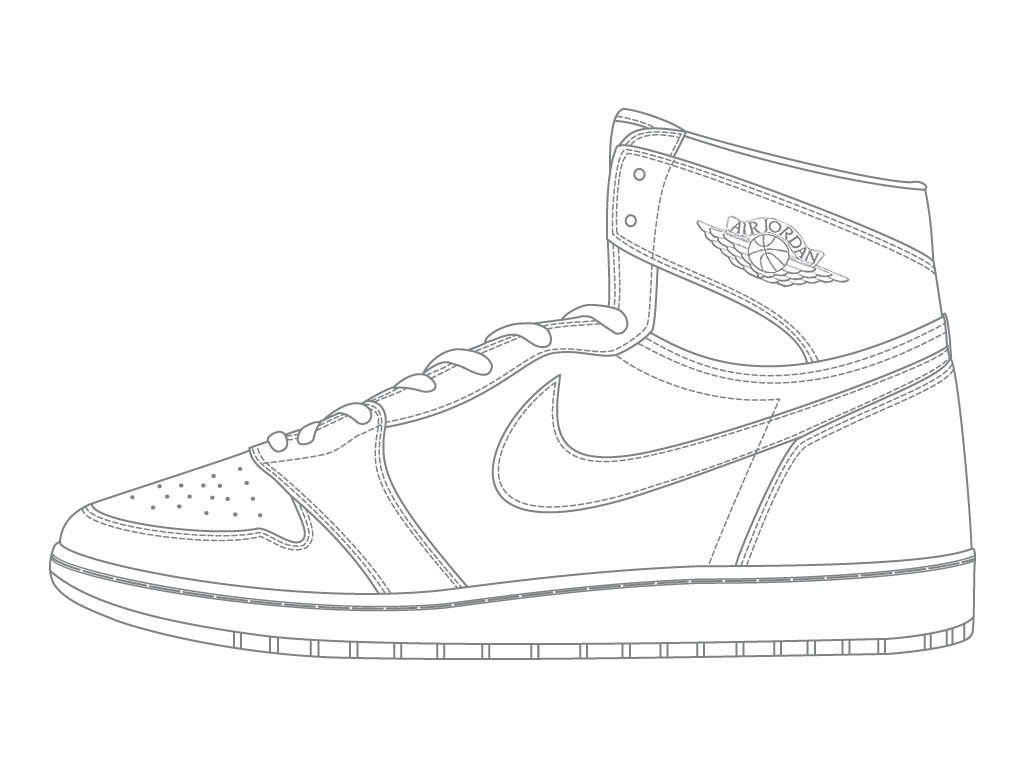 Coloring pages basketball shoes - Tarmrkgc Jordans Coloring Page Coloring Home On Nike Basketball Shoes Coloring Page With Jordan Coloring Page