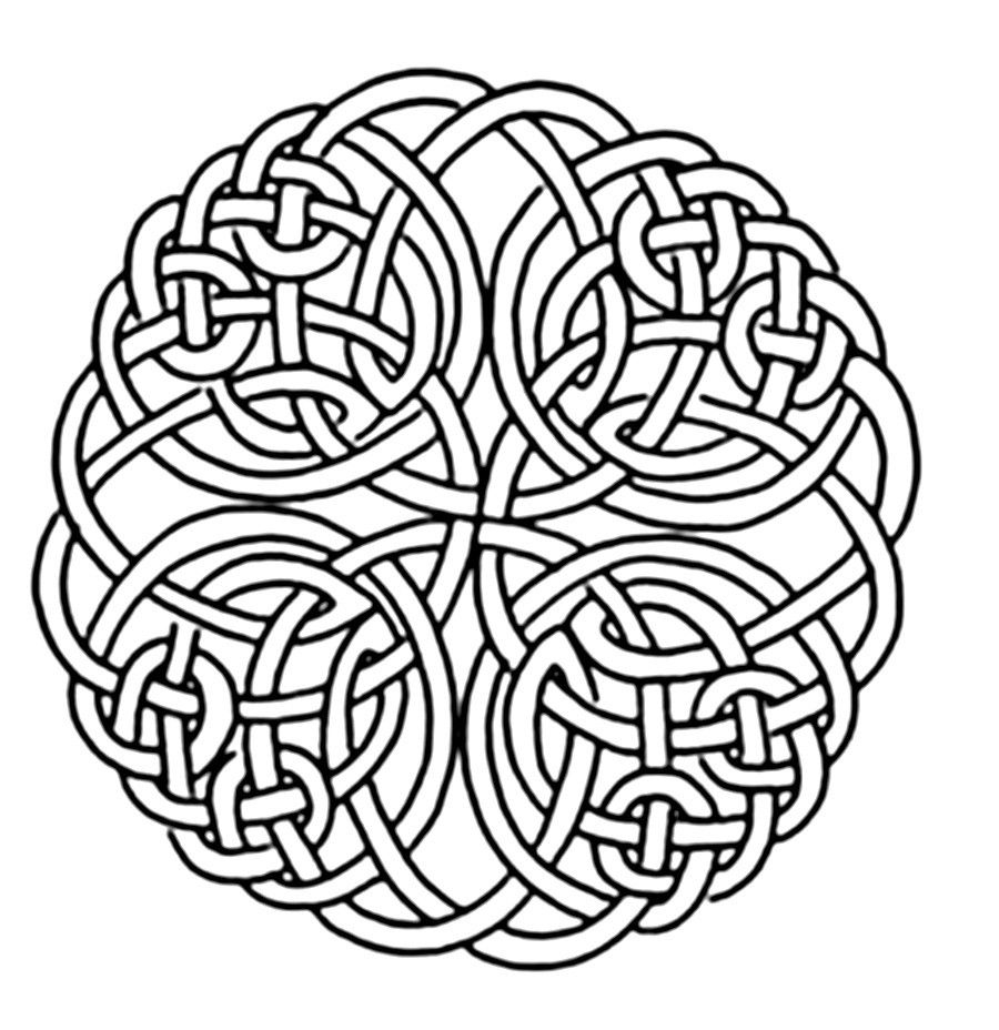 Free Adult Coloring Pages Celtic