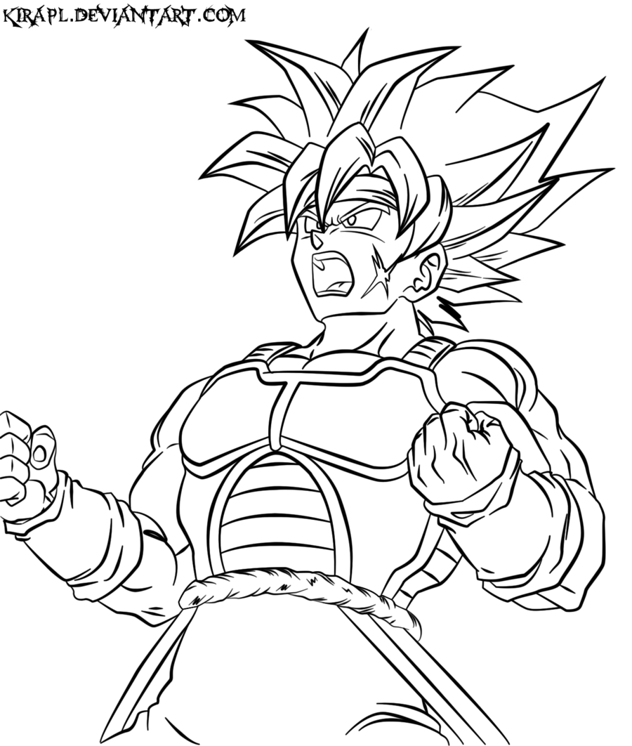 dbz goku coloring pages - bardock coloring pages az coloring pages