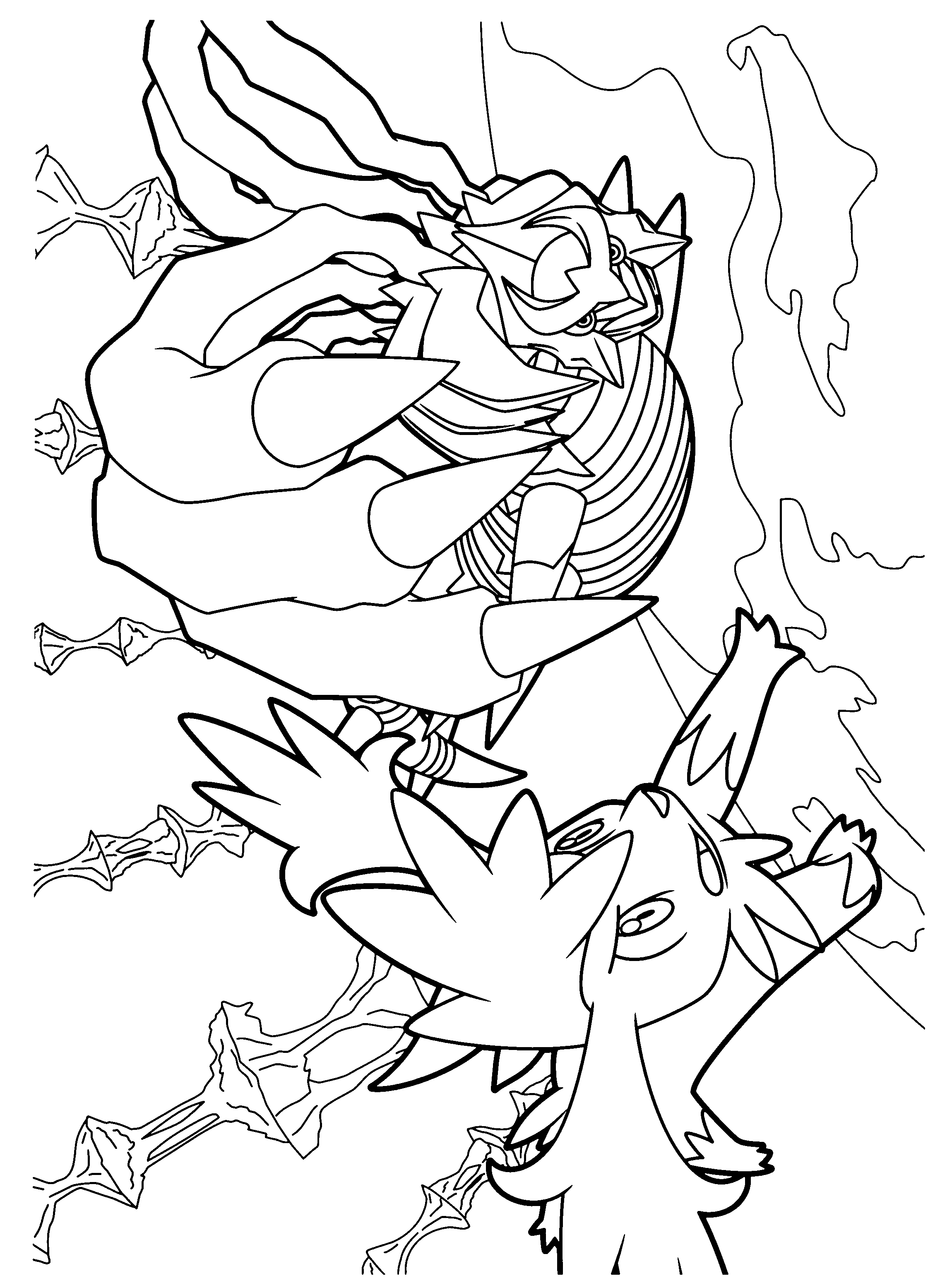 pokemon dimond coloring pages - photo#49