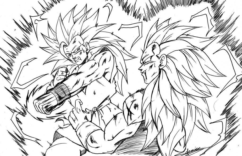 Dragon Ball Goku Coloring Pages - Colorine.net | #13774