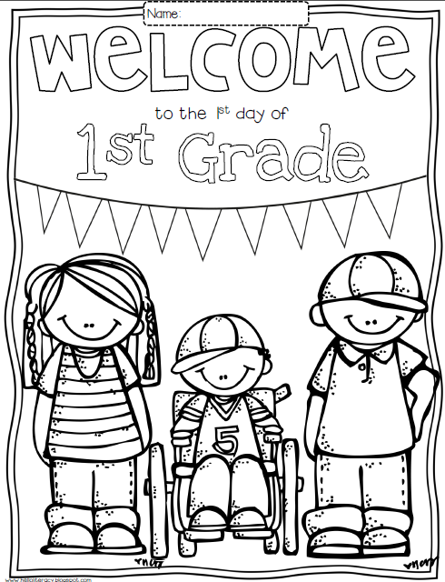 Welcome Back To School Coloring Pages - Coloring Home