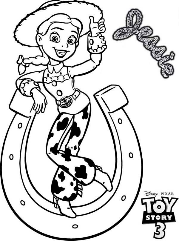 jessie coloring pages - photo#9