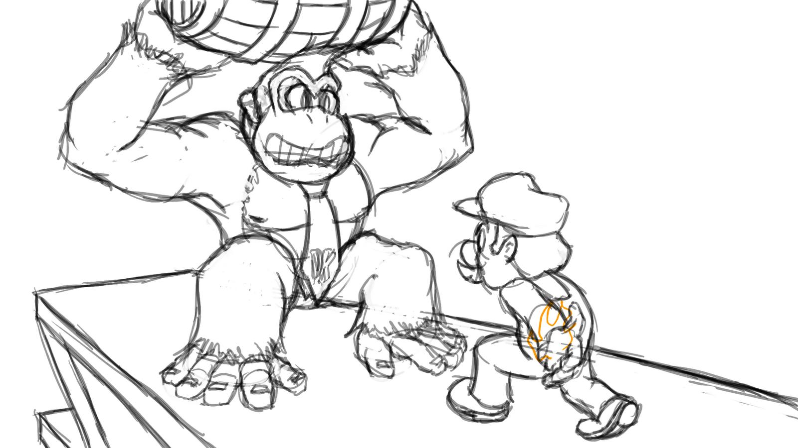 Donkey Kong Coloring Page Az Coloring Pages Kong Coloring Pages