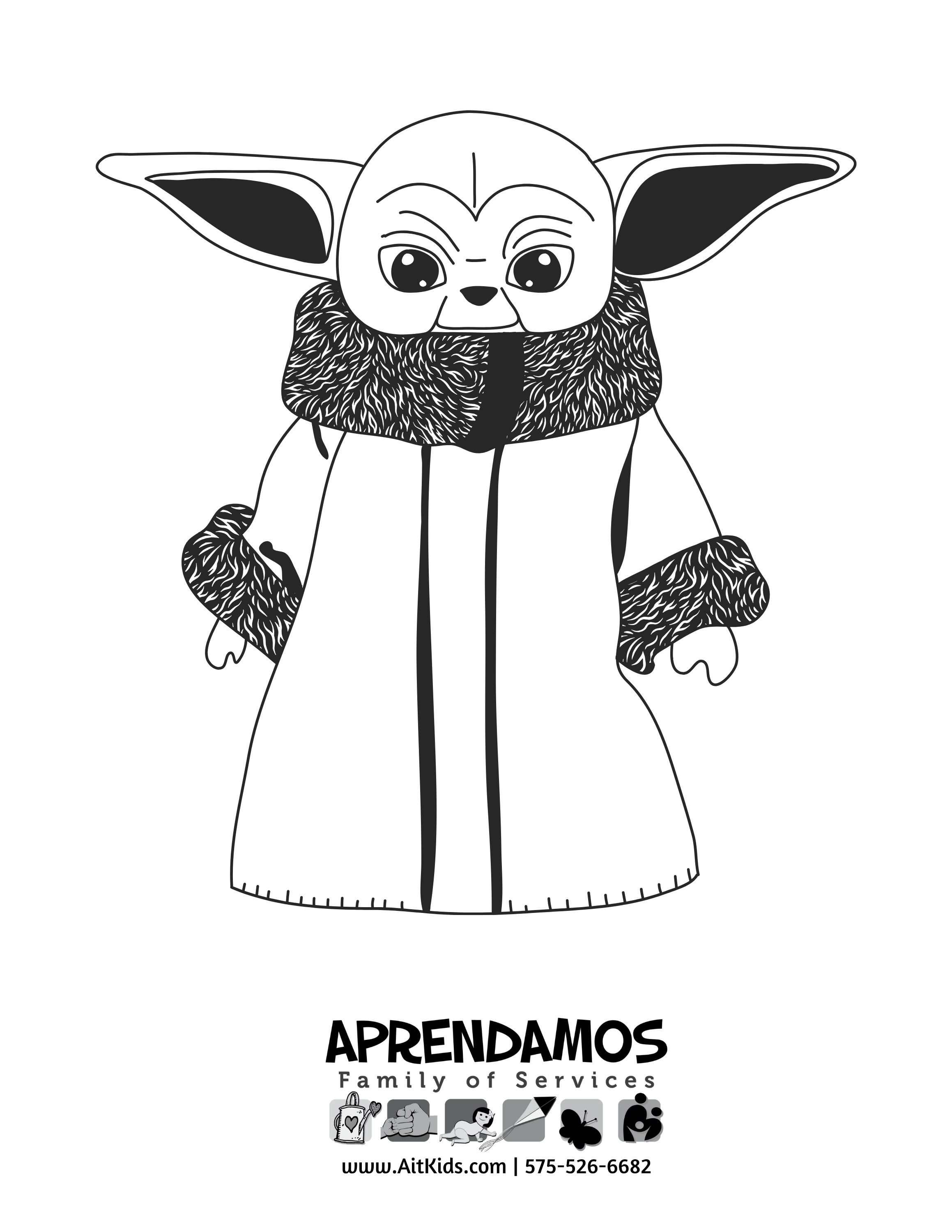 May The 4th Coloring Pages – Ait Kids