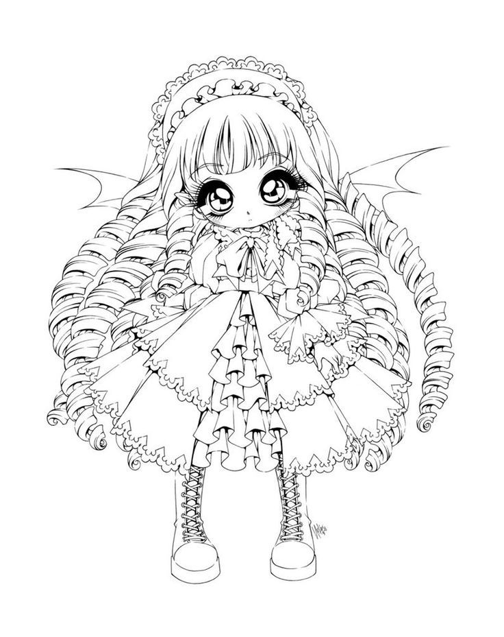 Anime Vampire Coloring Pages - Coloring Pages For All Ages