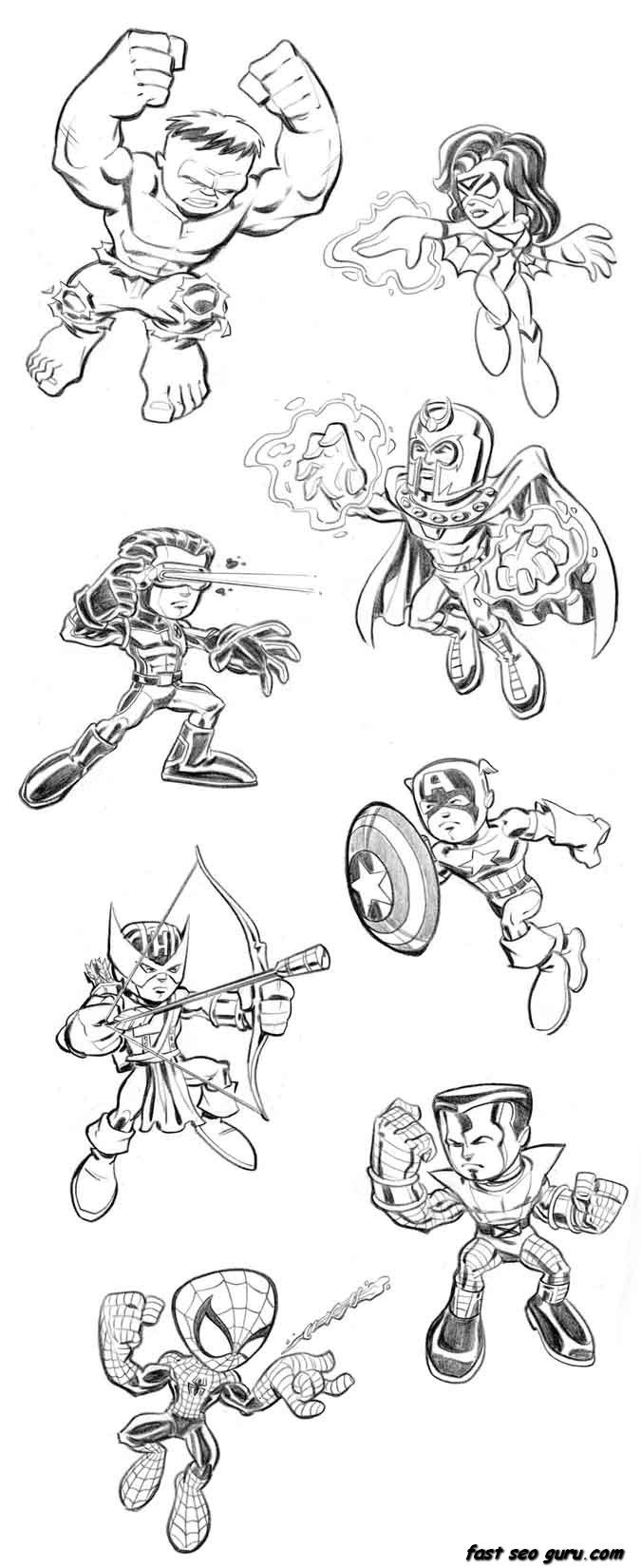 lego avengers coloring pages - photo#18