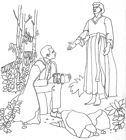 12 Images Of Lds First Vision Coloring Page Joseph Smith