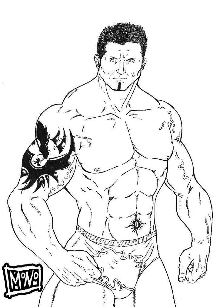 Wrestling Coloring Pages OnlineColoringPrintable Coloring Pages