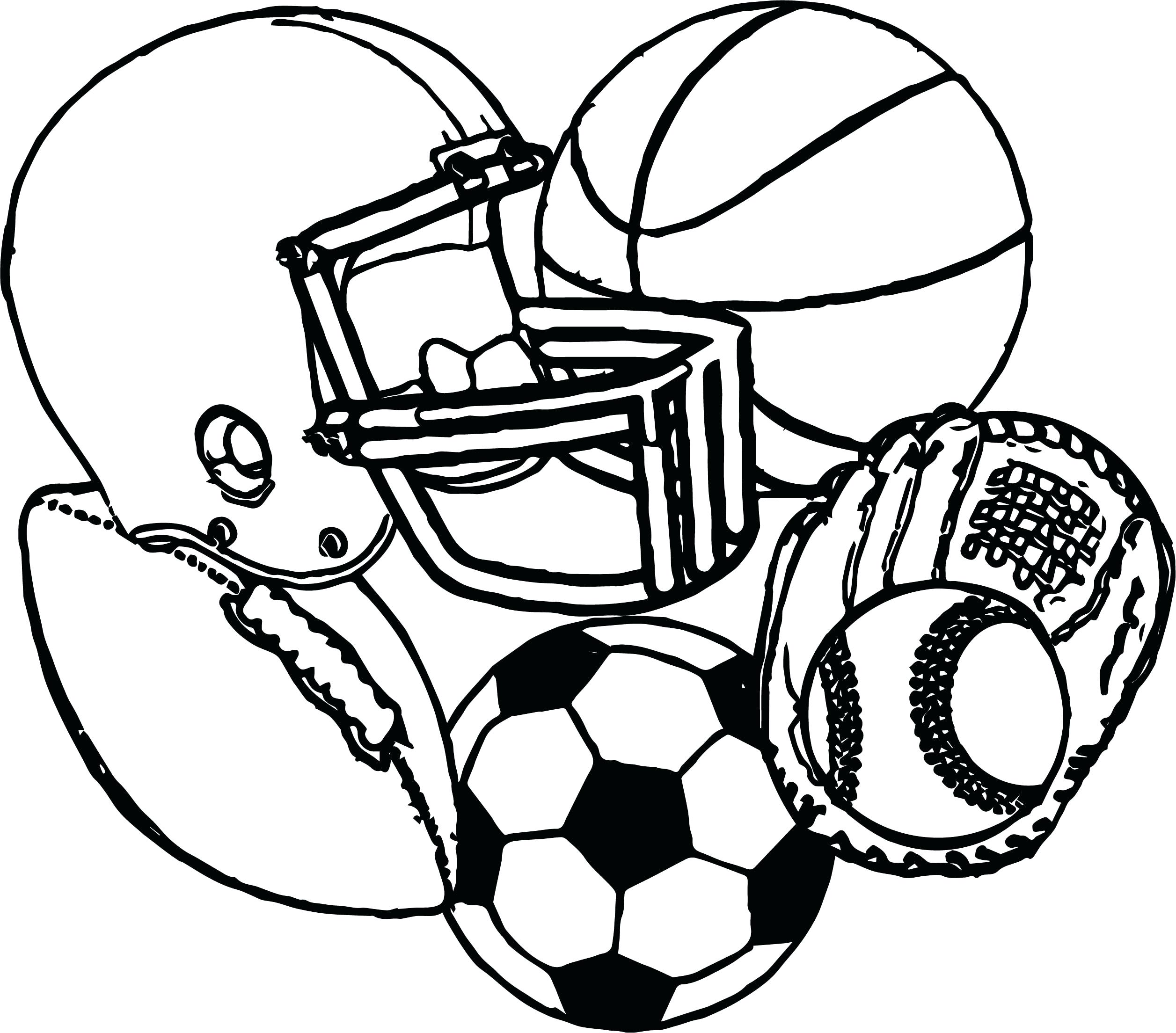 Soccerball Coloring Pages - Coloring Home