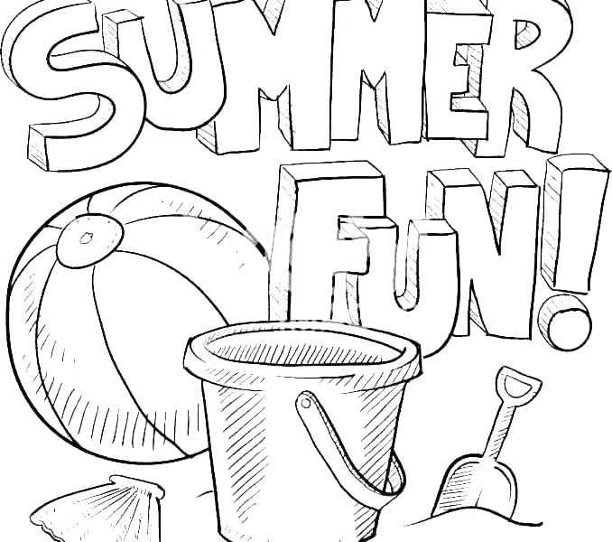 Summer Clothes Coloring Pages - Coloring Home