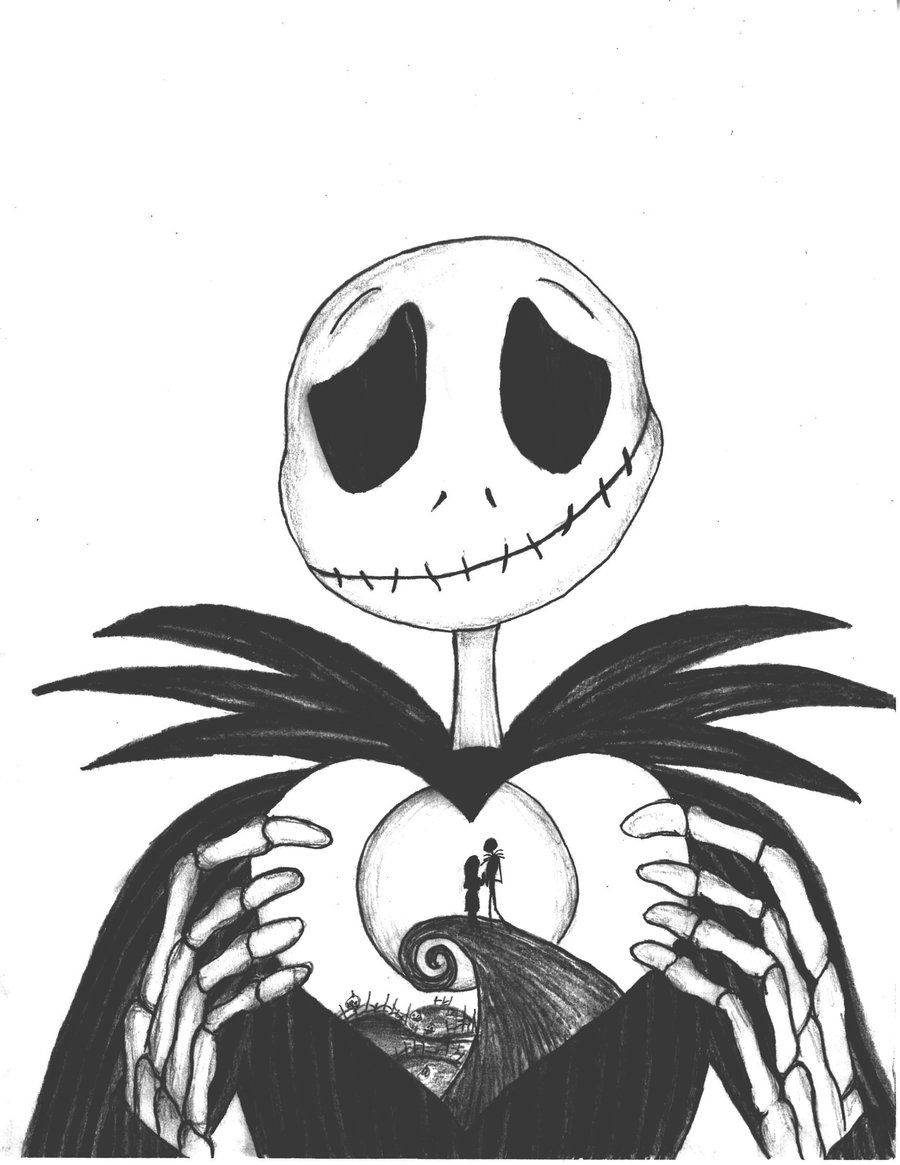 Nightmare Before Christmas Coloring Pages | Only Coloring Pages ...