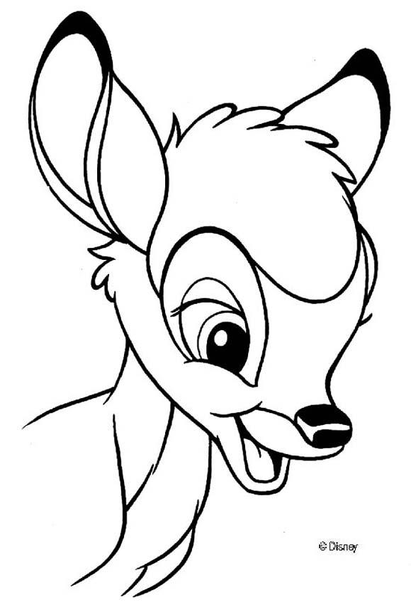 Bambi Coloring Pages Pdf : Bambi coloring pages home