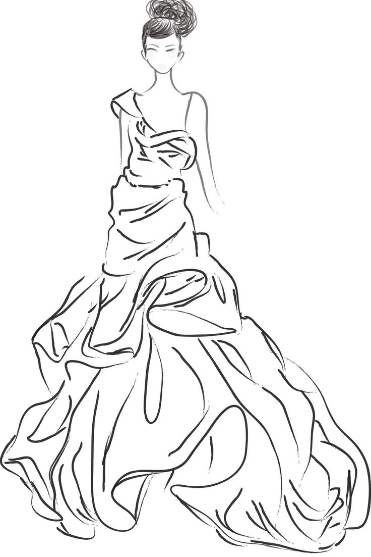 Fashion Coloring Pages Printable - Coloring Home