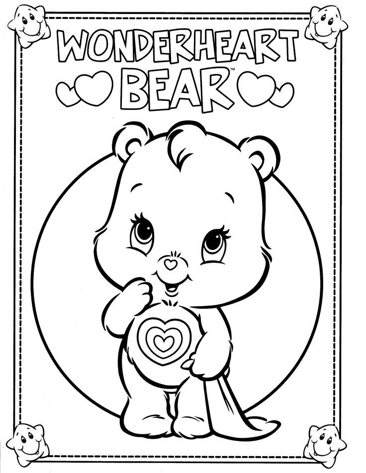 Care Bears Coloring Page | Care Bears & Cousins ...