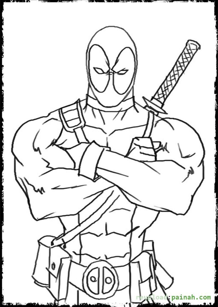 Deathstroke Coloring Pages - Coloring Home