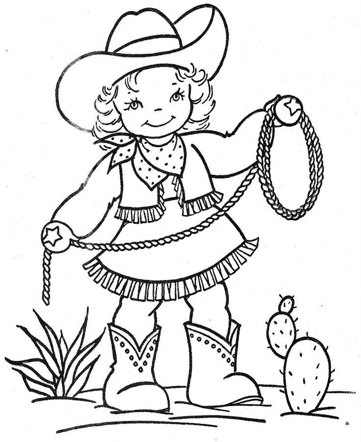 wildwest coloring pages - photo#19