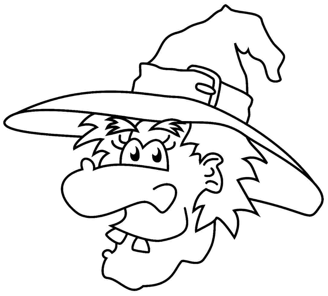 9 Pics of Halloween Witch Coloring Page Free Printable - Free ...