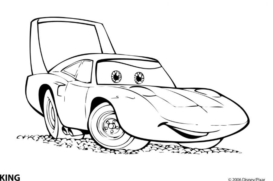 disney cars mcqueen printable coloring page cars the movie