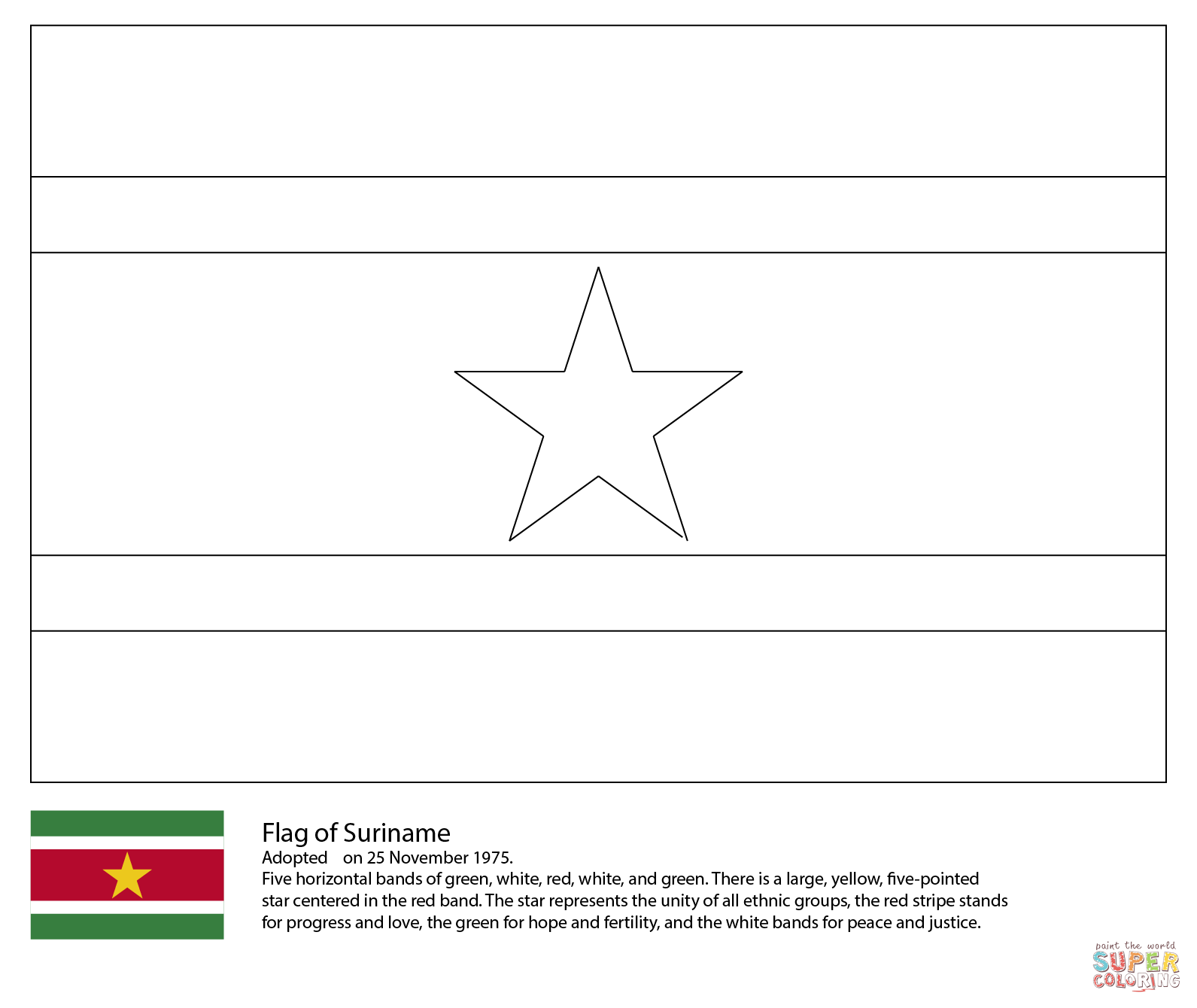 Flags Of The World Coloring Pages | Haramiran | 1340x1591