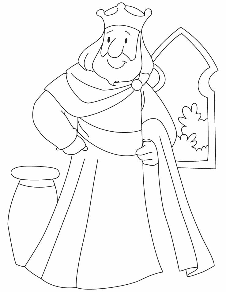Coloring Pages King Coloring Home