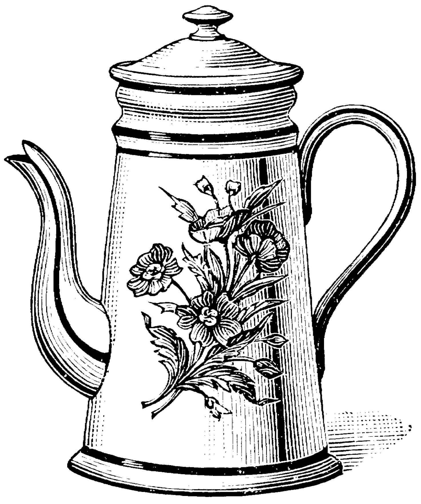 i am a little teapot coloring pages - photo #36