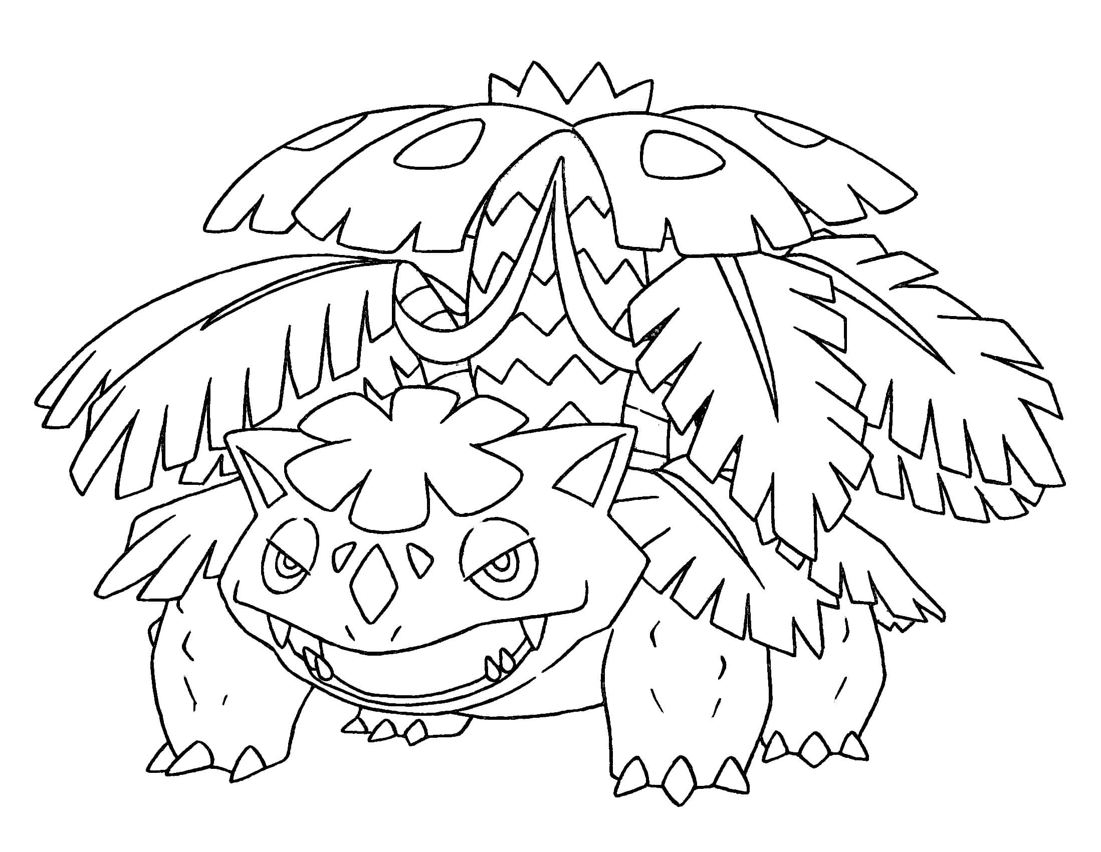 Free Mega Pokemon Coloring Pages : Mega Pokemon Coloring Pages Coloring Home