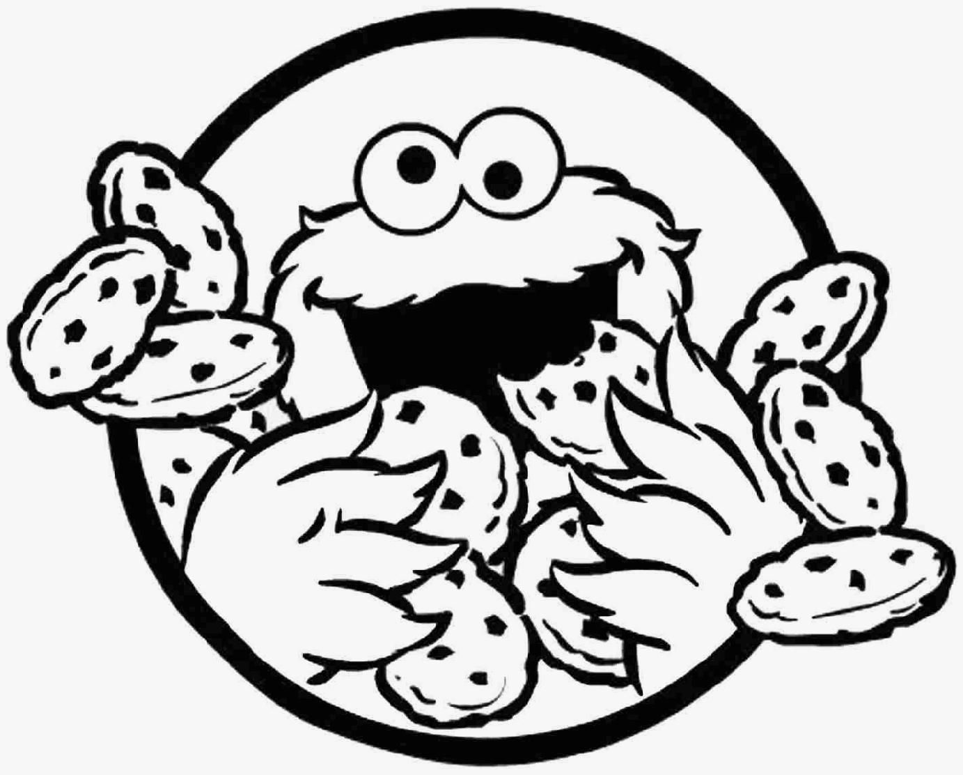 Se self control coloring pages - Cute Cartoon Monster Coloring Pages Colorine Net 2151