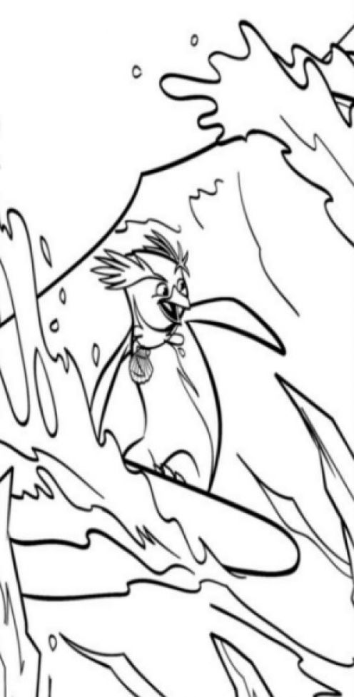 surfs up cody coloring pages - photo#2