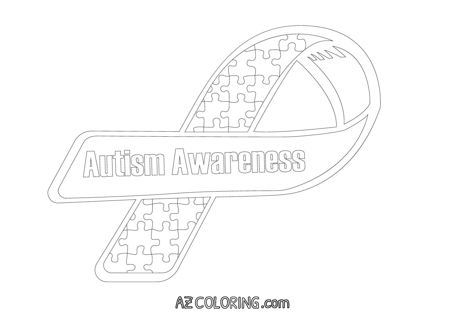 autism awareness month coloring pages - photo#12