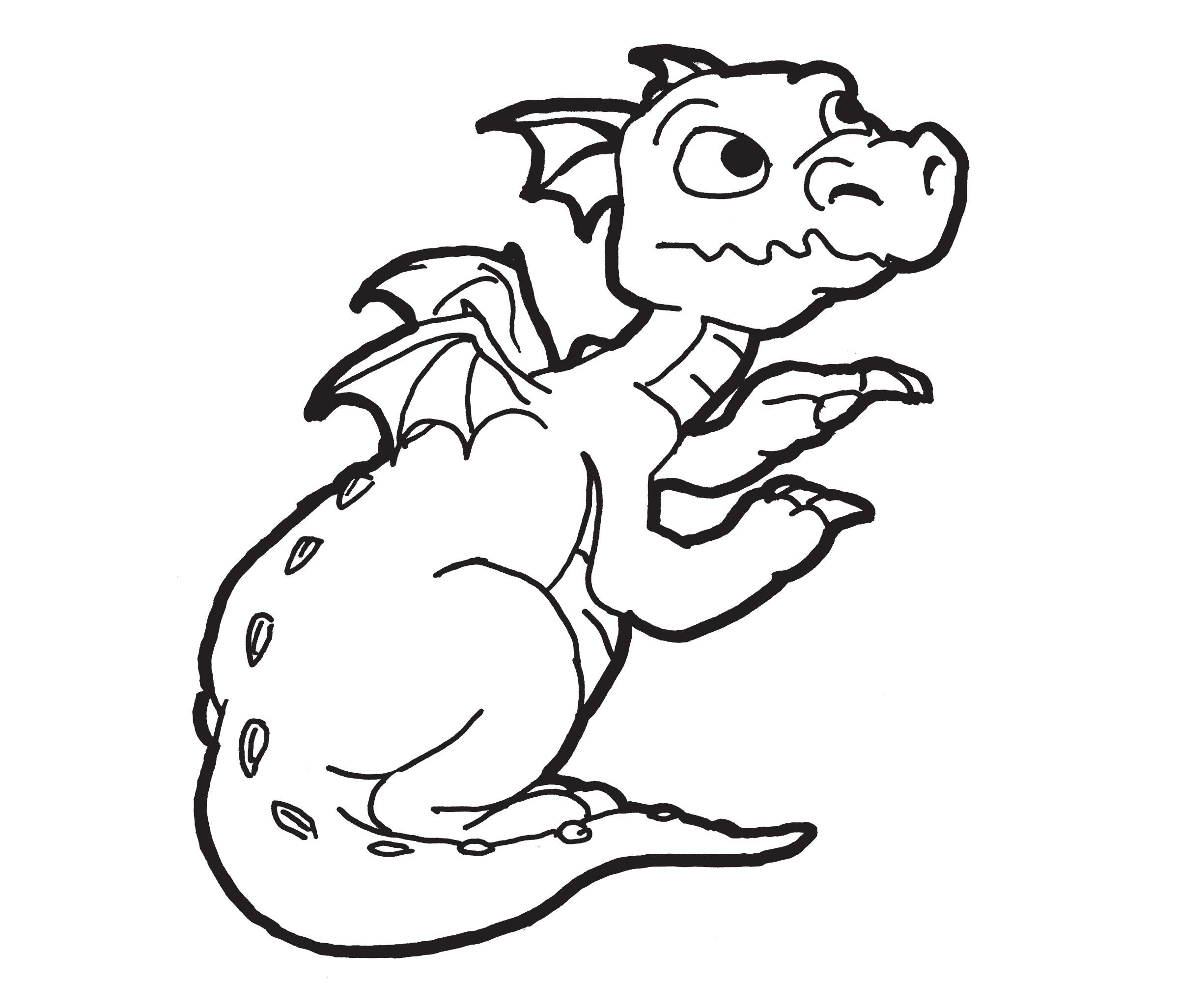 baby dragons coloring pages - photo#25