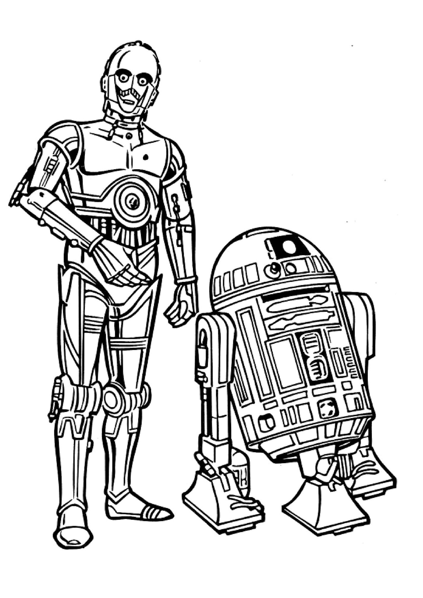r2d2 coloring pages - photo #37