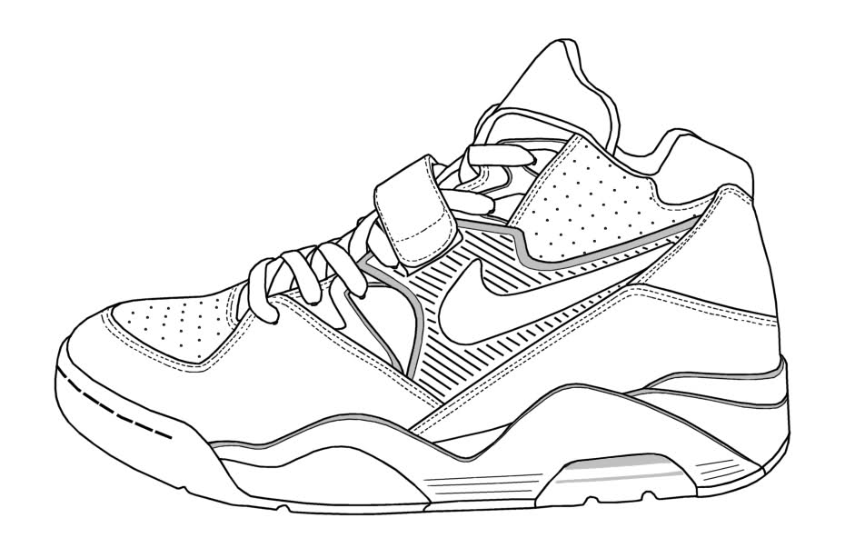9 Pics Of LeBron 11 Shoes Coloring Pages