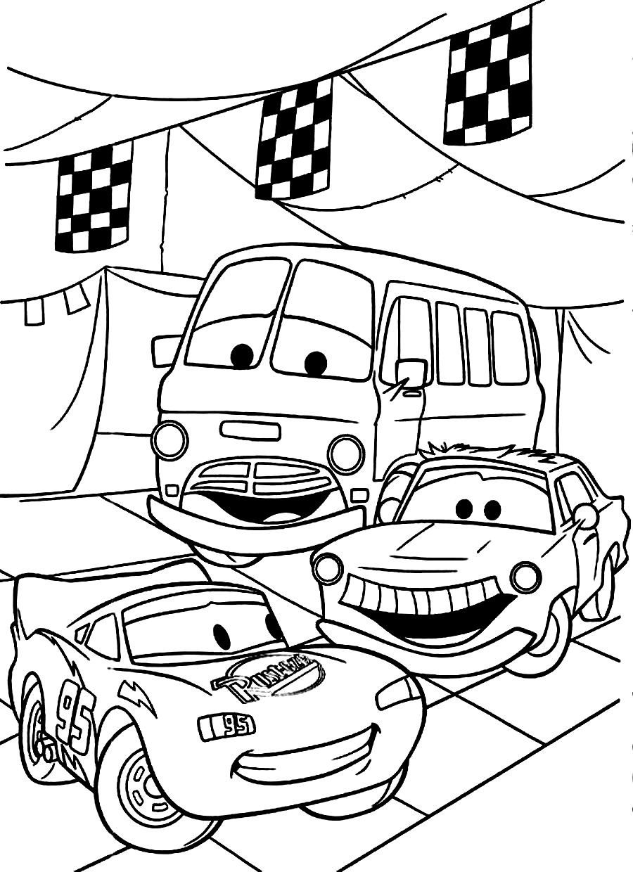 cars birthday coloring pages coloring home