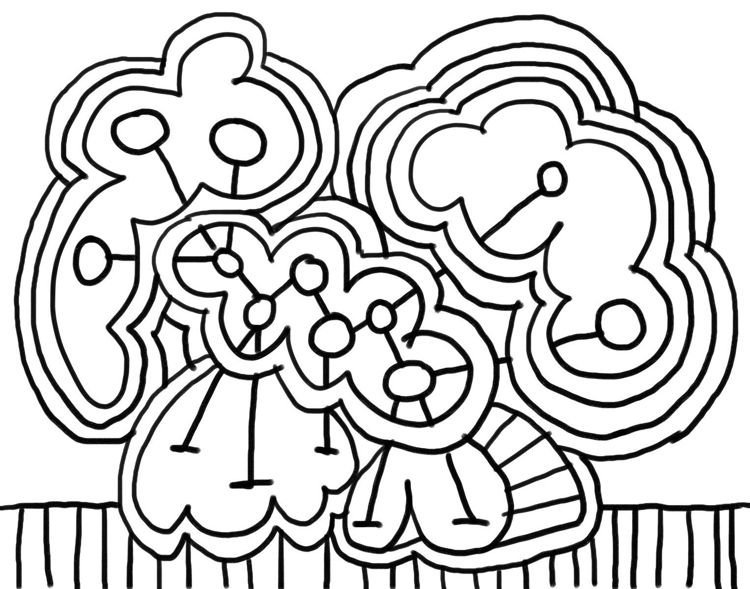 art coloring pages for kindergarteners - photo#42