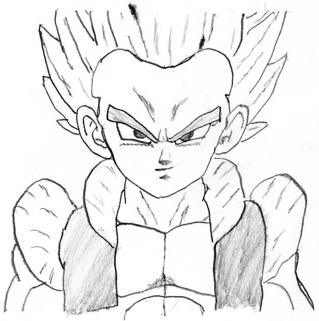 7 pics of super saiyan gotenks coloring pages dragon ball z
