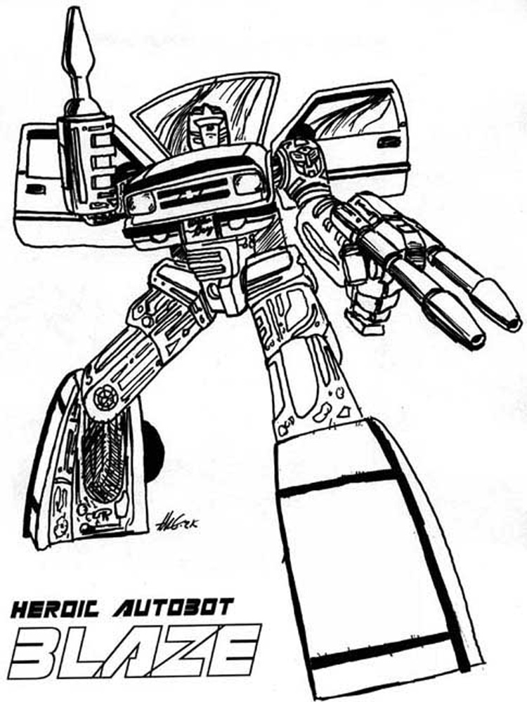 Free Printable Transformers Autobot Coloring Pages For Boys Coloring Home