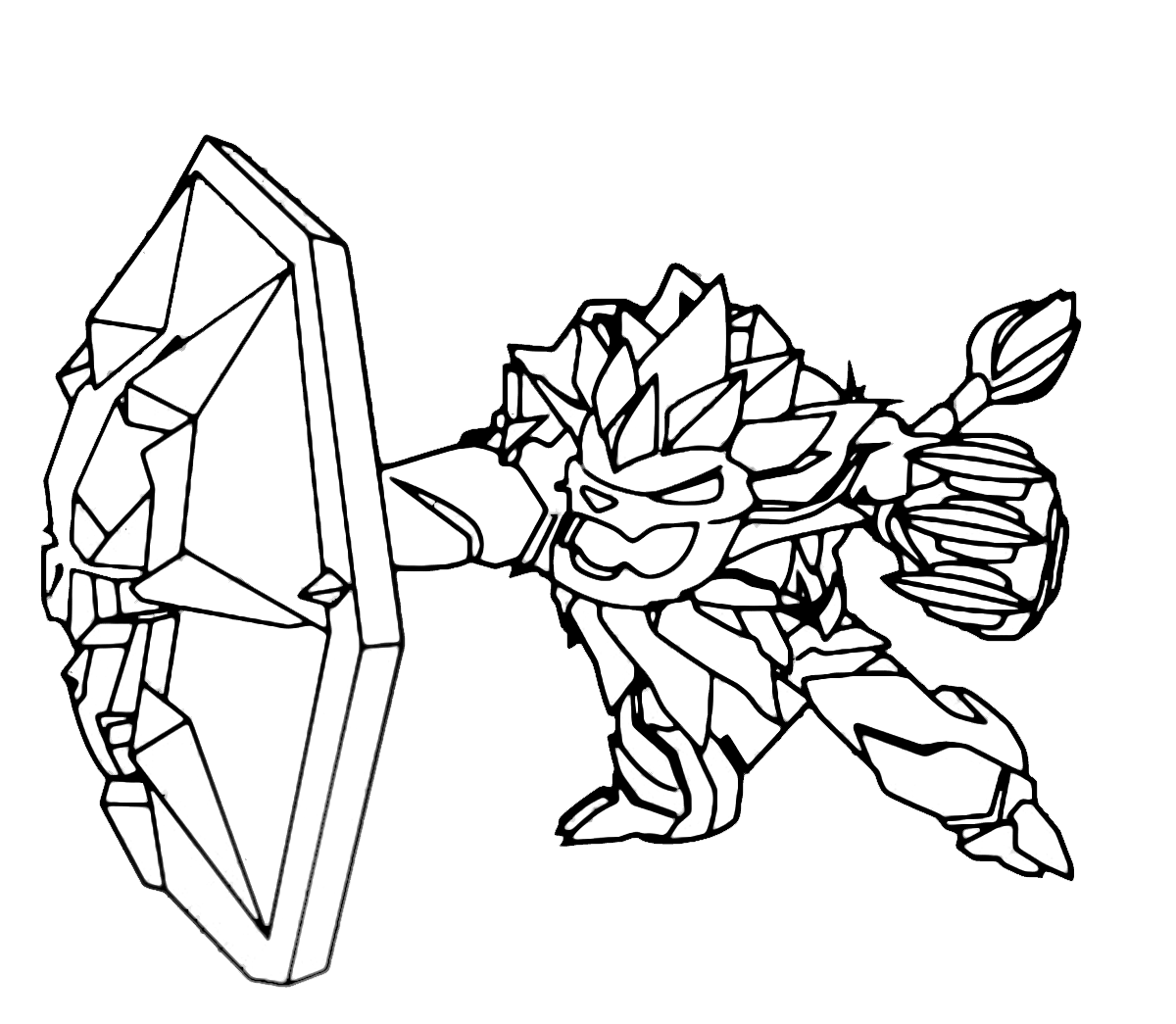 Knight Light Skylanders Coloring Page - Free Coloring Pages Online | 1045x1200