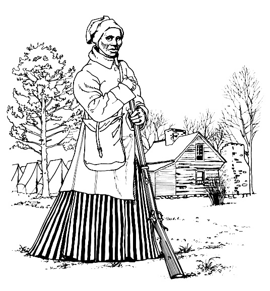 Harriet Tubman Coloring Pages - Google Twit - Coloring Home